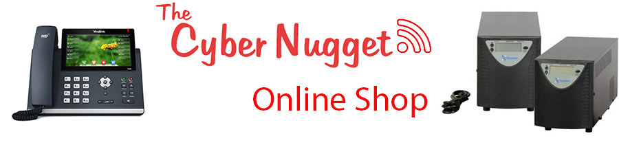 The Cyber Nugget IT Services Online Shop - Electronics - TV - Sound products - laptops - computers - backup power solutions